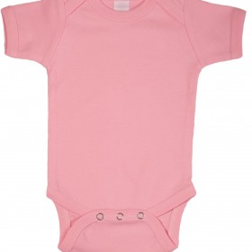 light-pink-short-sleeve-onesie-front