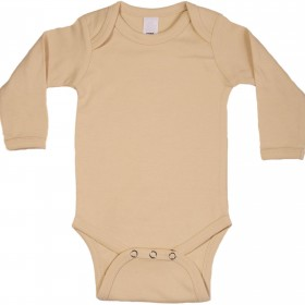 tan-long-sleeve-onesie-front